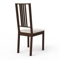 BORJE Dark Wood Dining chair 3D Model .max .obj .3ds .fbx ...