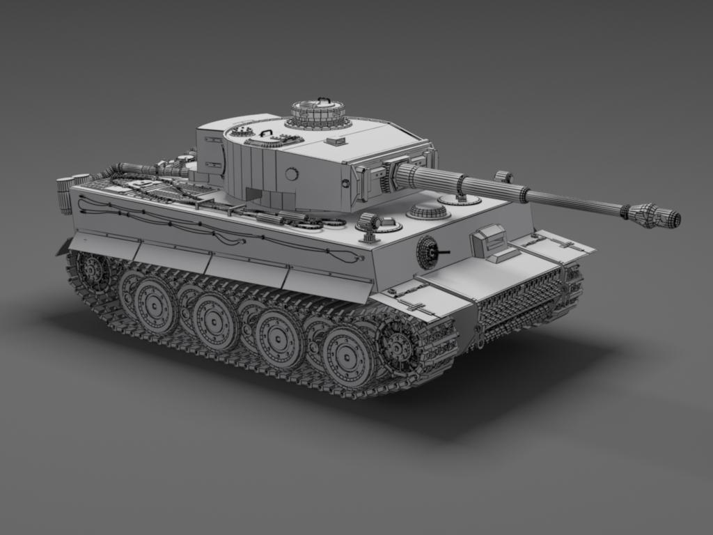 Hd Wallpaper Pack Free Download Rar German Tiger Tank Free 3d Model Max 3ds Skp Cgtrader Com