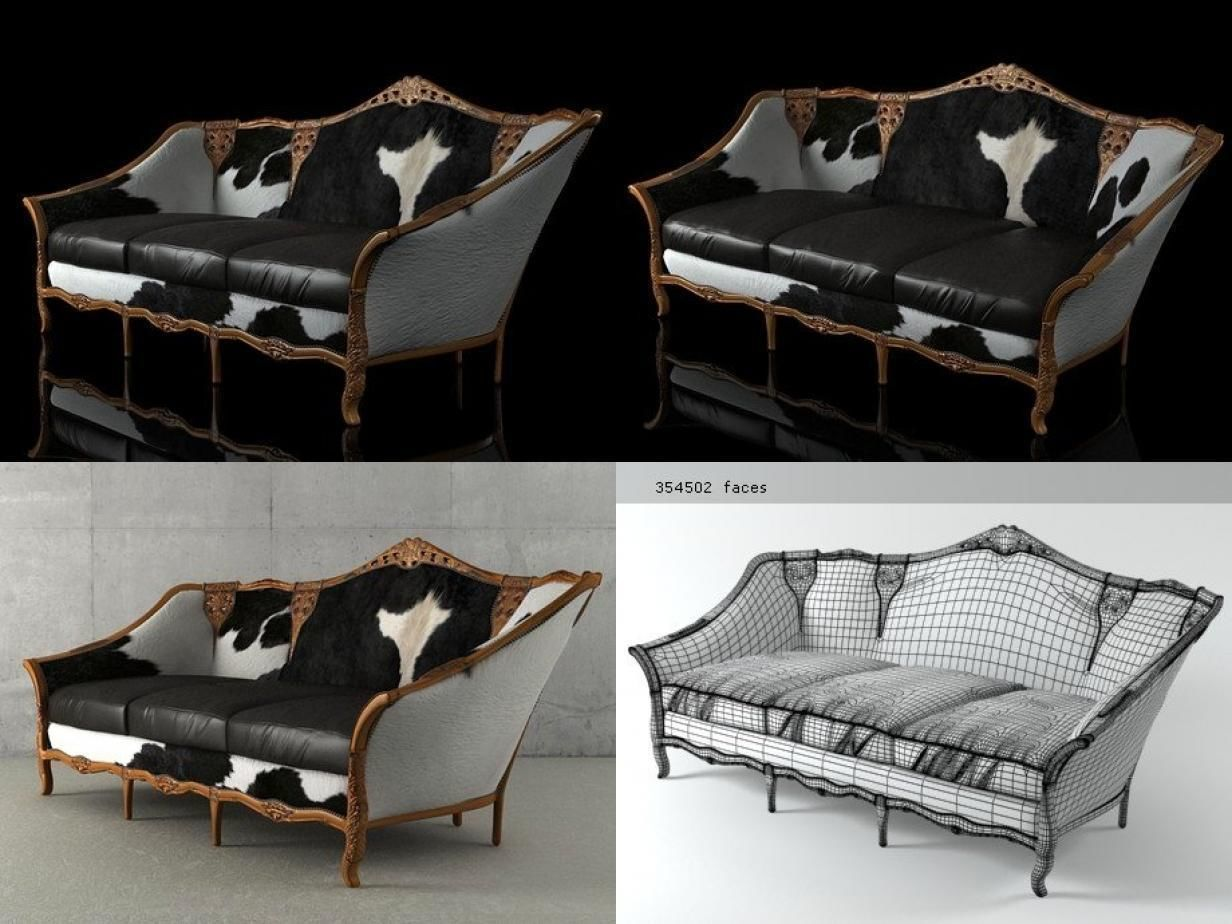 What Is Sofa In Spanish Spanish Sofa 3d Model