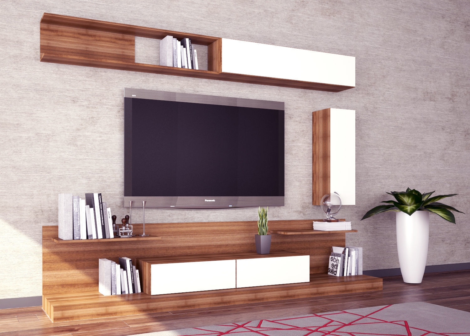 Modern Tv Modern Tv Unit Design 3d Model 3d Model