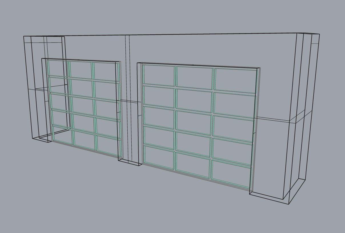 Porta Garage Dwg Modelos De Portões De Garagem Os Mais Lindos