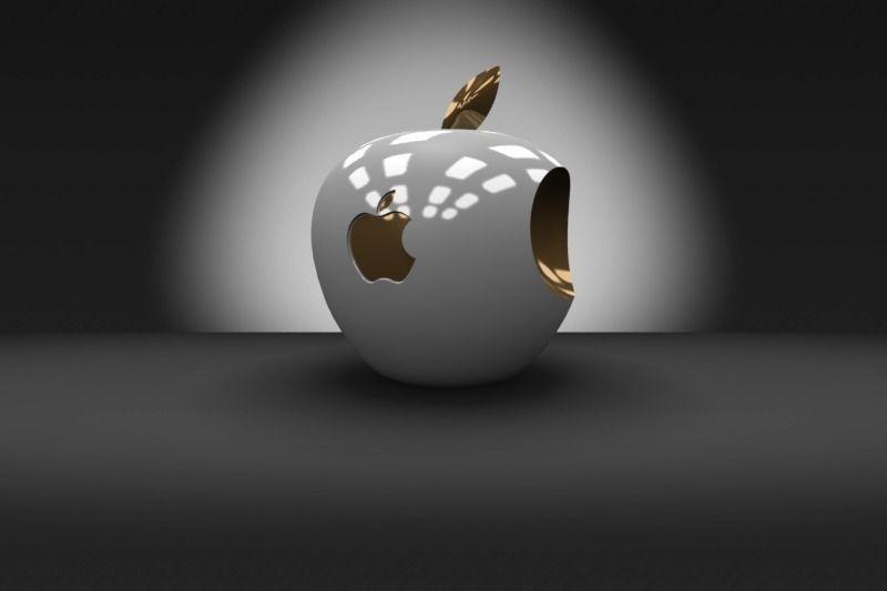 Car Woman Wallpaper 3d Apple Logo Free 3d Model 3d Printable Stl Dwg Sldprt