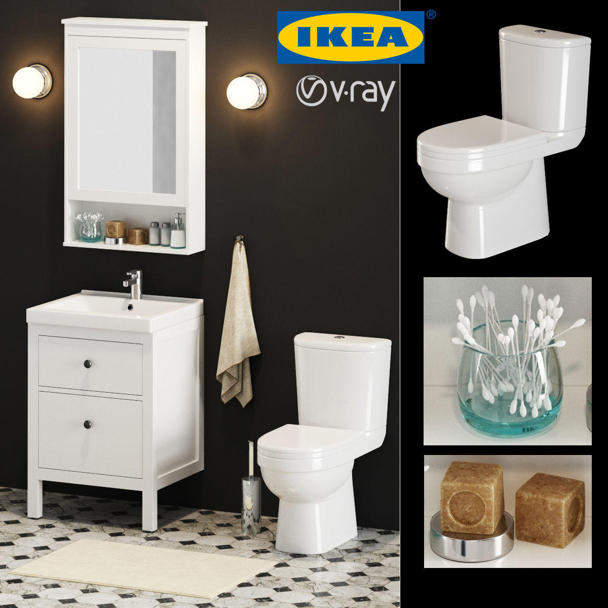 Ikea Dragan Badezimmer Set Gallery Ikea Bathroom Set