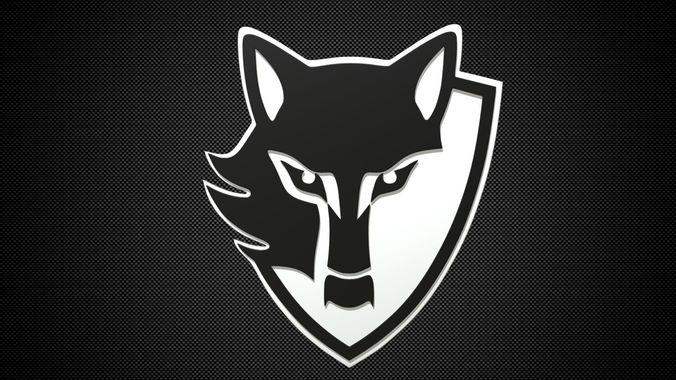 Car Brand Logos Wallpaper E Wolf Logo 3d Cgtrader