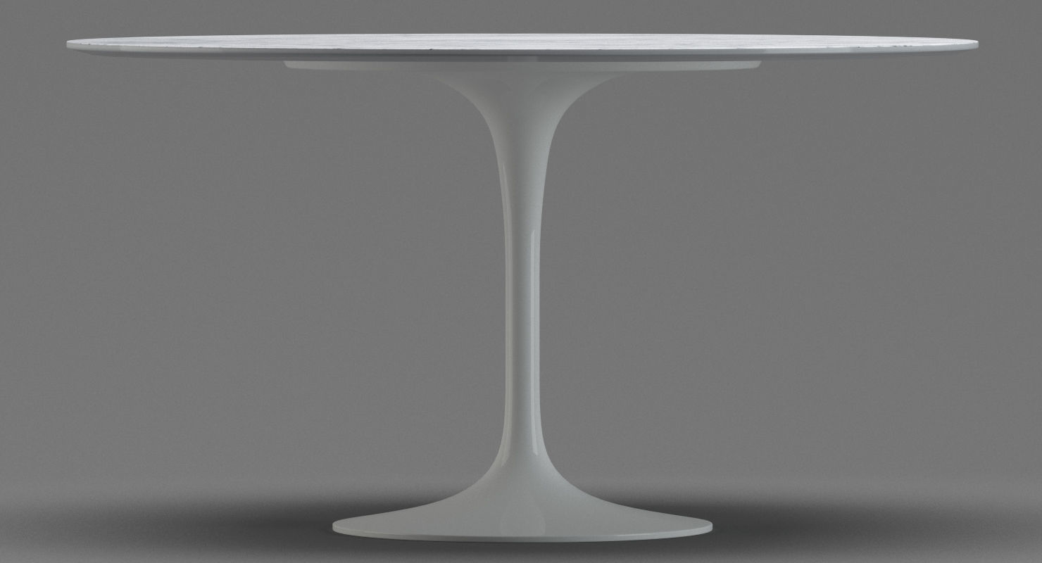 Saarinen Knoll Table Knoll Saarinen Dining Table 3d Model