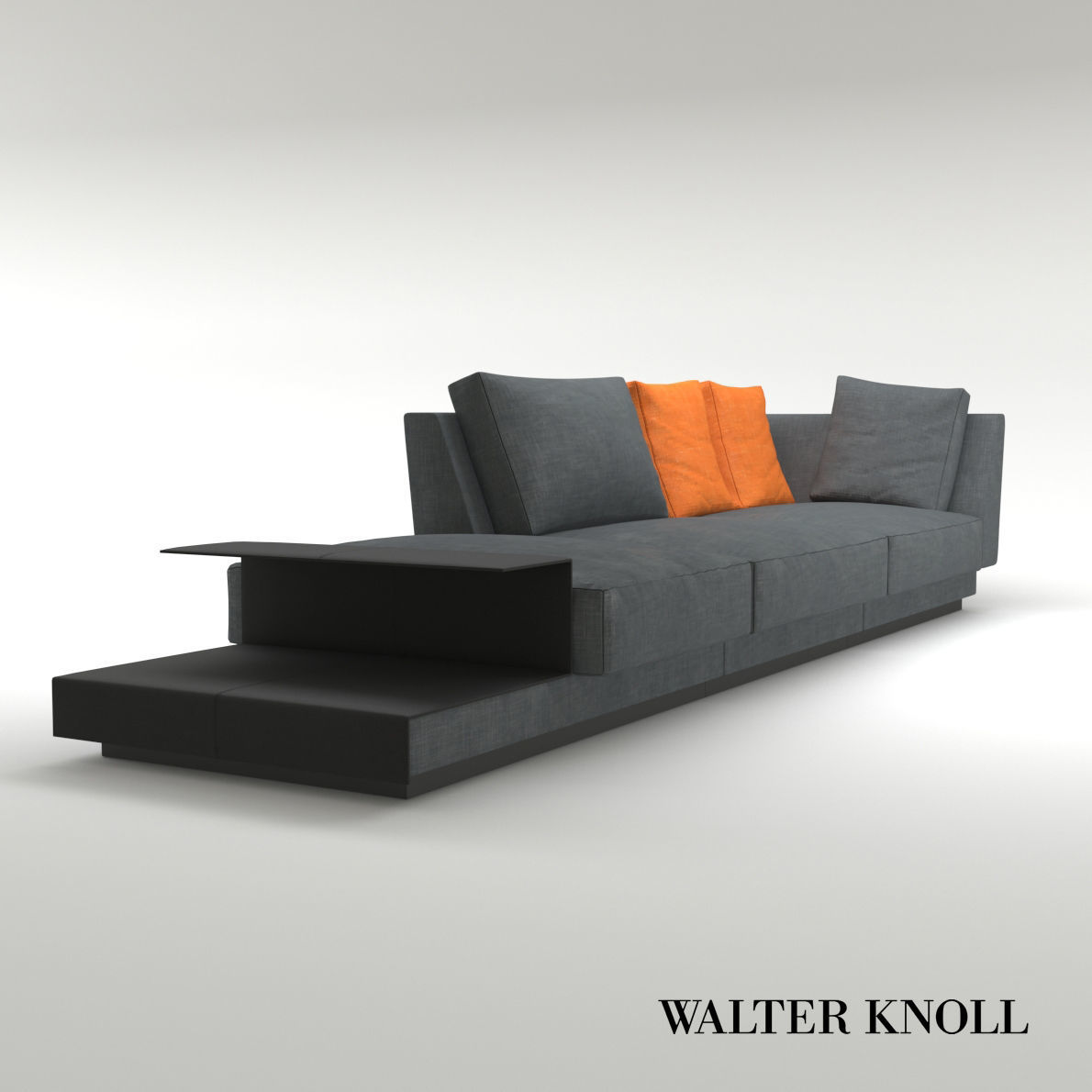 Walter Knoll Sofa Sofa Grand Suite From Walter Knoll Design By Eoos 3d Model