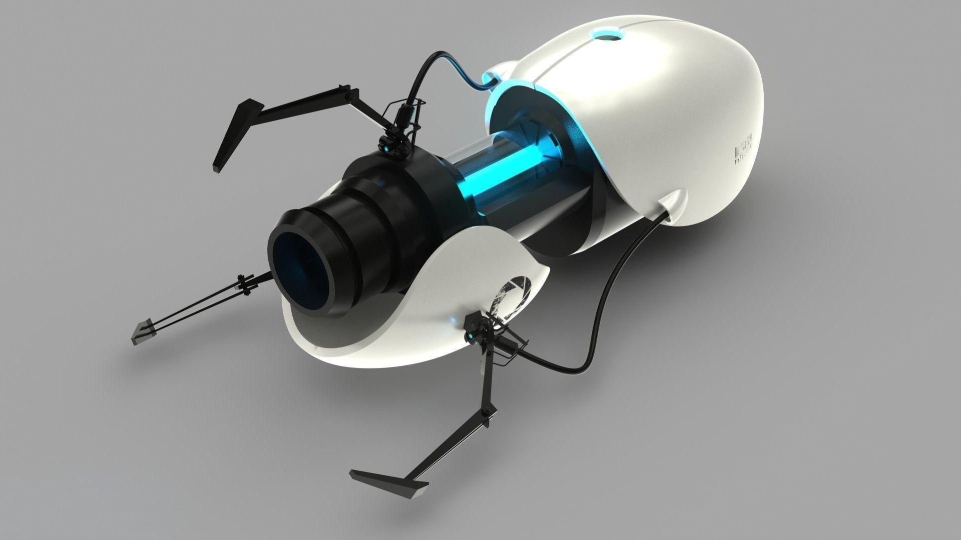 Rick And Morty 3d Wallpaper Portal Gun Free 3d Model Cgtrader Com
