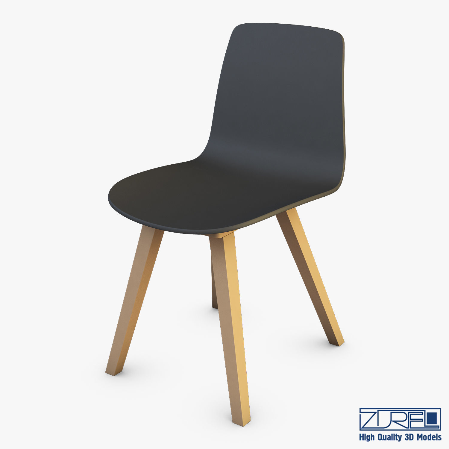 Alki Chaises Alki Kuskoa Chair 3d Model