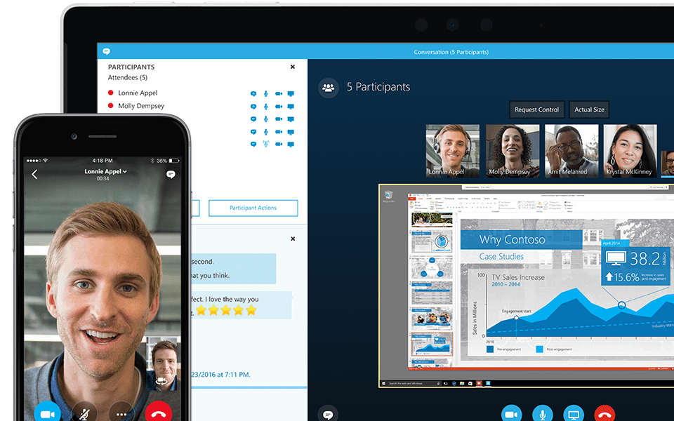 Office 2016 Kopen Online Meetings With Skype For Business Formerly Lync