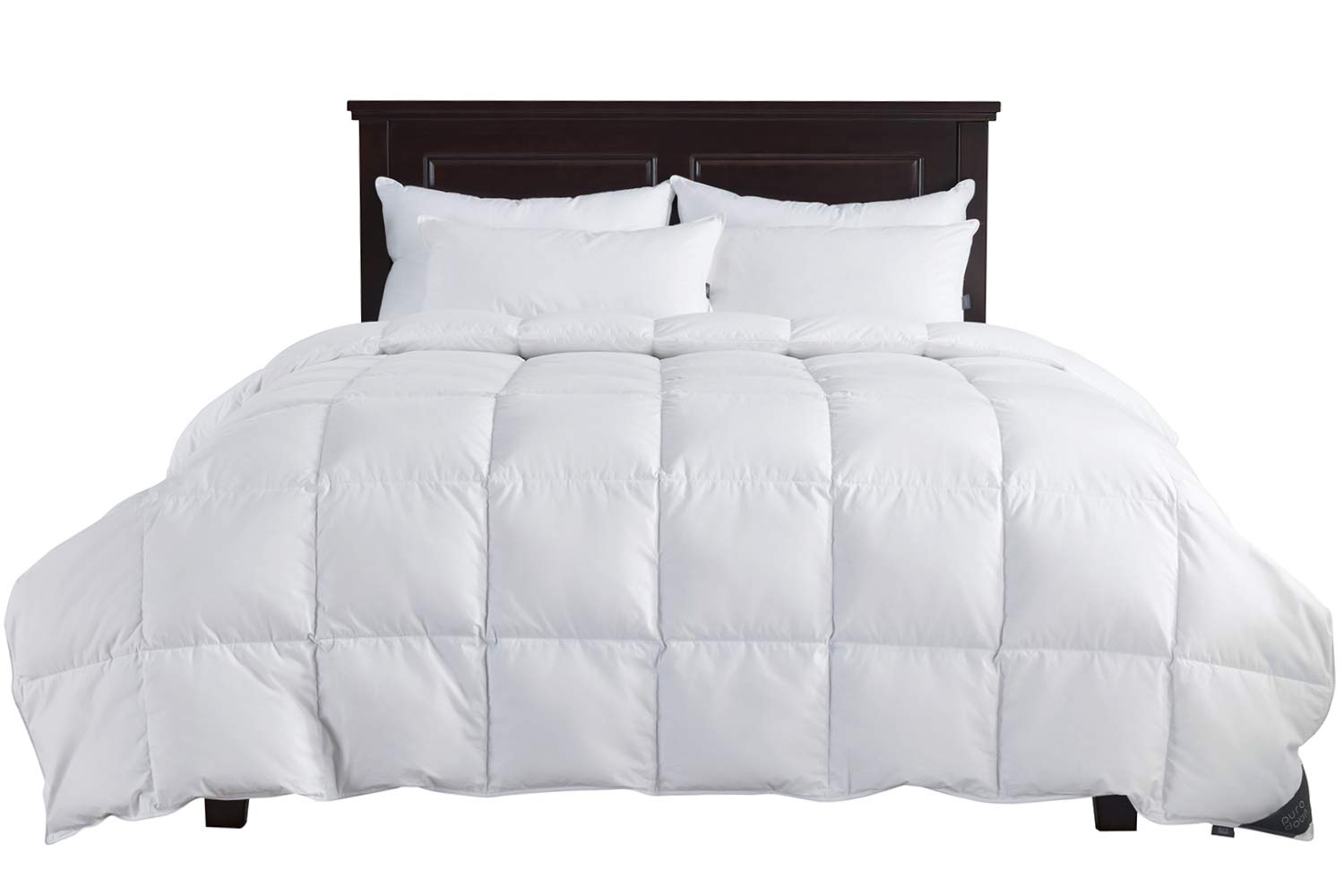 Puredown Lightweight Light Warmth Duvet Insert Down Comforter Twin