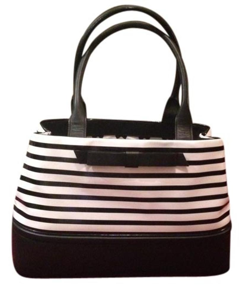 Bag Of Ice Price Kate Spade Elena Chelsea Park Large Style Wkru 2399 Black Ice Black White Stripe Genuine Patent And Soft Matte Leathers Shoulder Bag 68 Off