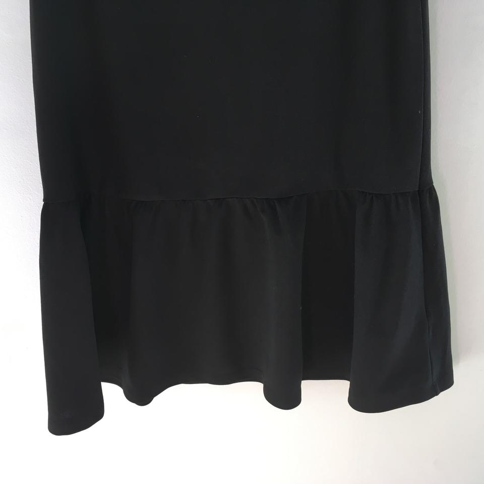 Home Office H&m H M Black Drop Waist Above Knee Work Office Dress Size 12 L