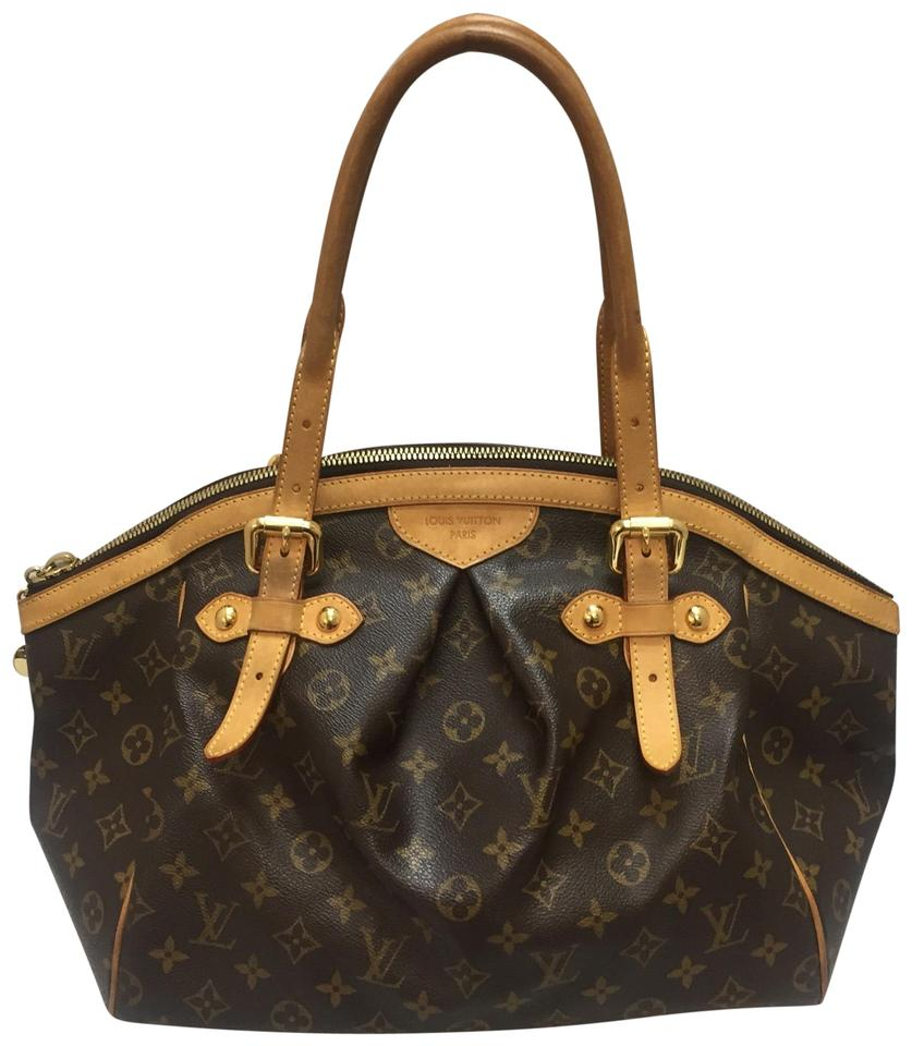 Tivoli Gm Louis Vuitton Tivoli Gm Monogram Brown Canvas Tote 54 Off Retail