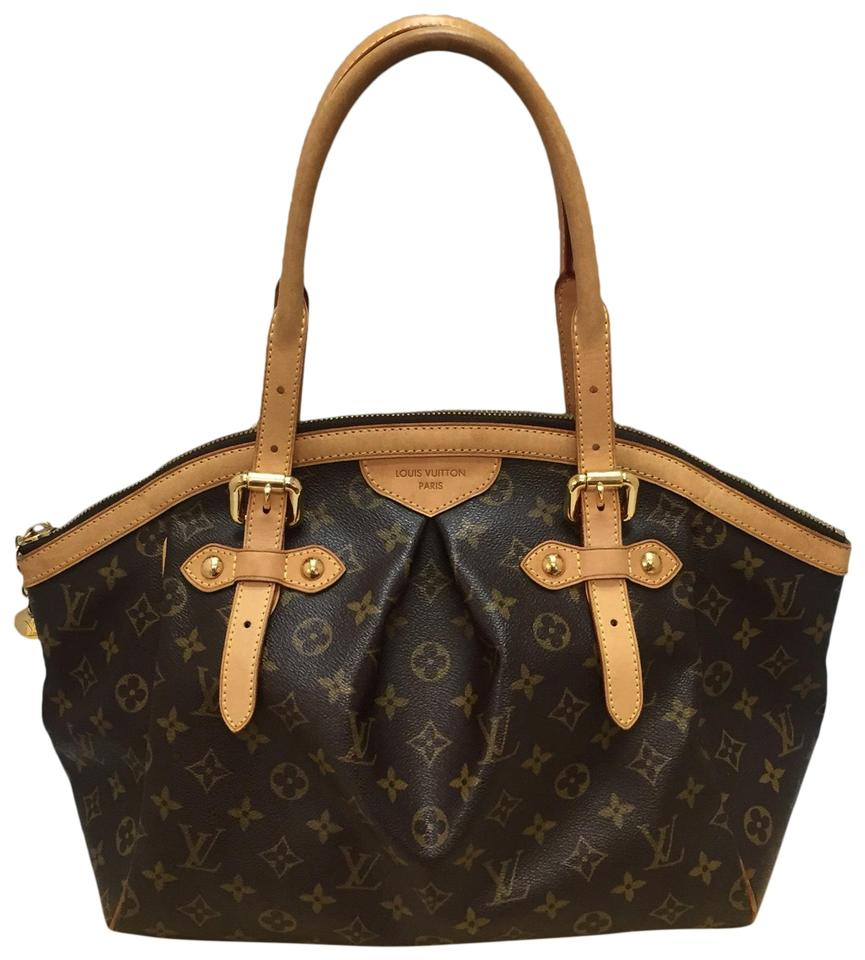 Tivoli Gm Louis Vuitton Tivoli Gm With Dustbag Brown Monogram Canvas Tote 49 Off Retail