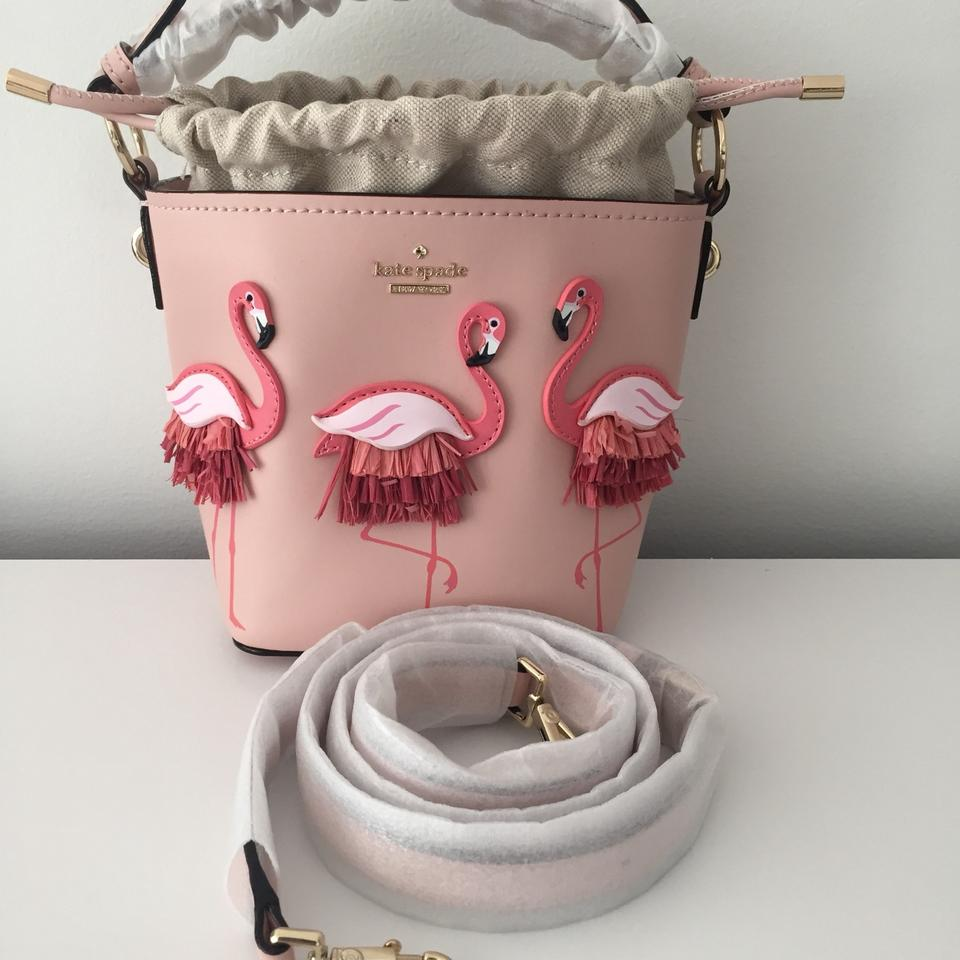 By The Pool Flamingo Kate Spade Kate Spade New Pippa By The Pool Flamingo Pink Leather Cross Body Bag 23 Off Retail