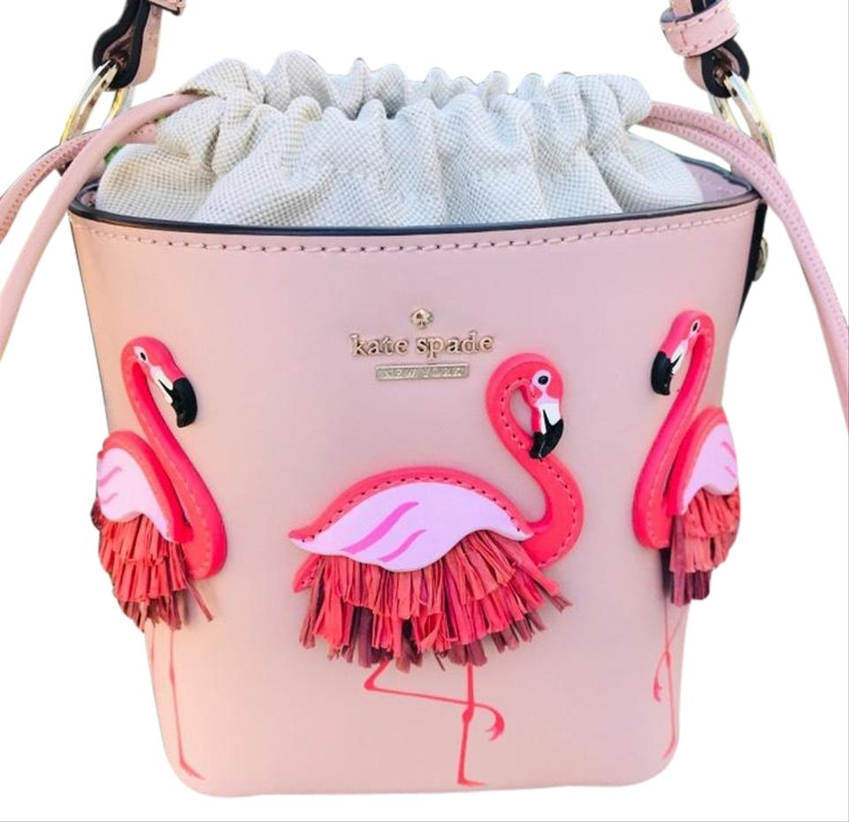 By The Pool Flamingo Kate Spade Kate Spade Bucket New York Flamingo Pippa By The Pool Warm Vellum Cross Body Bag 8 Off Retail
