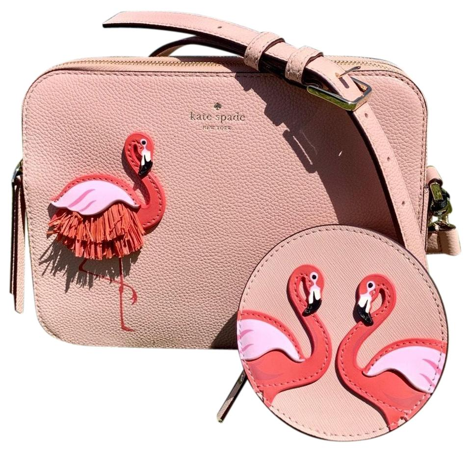By The Pool Flamingo Kate Spade Kate Spade Flamingo By The Pool Set Leather Cross Body Bag 35 Off Retail