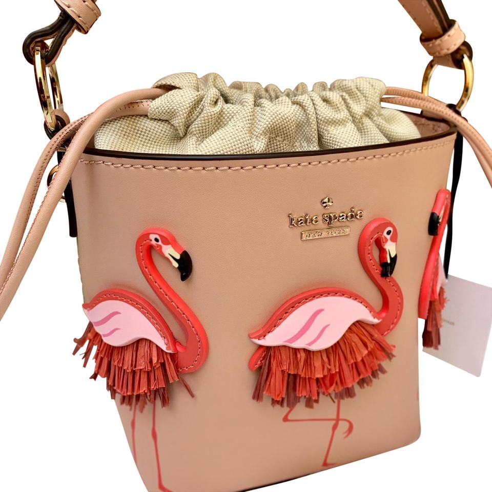 By The Pool Flamingo Kate Spade Kate Spade Flamingo Pippa By The Pool Warm Vellum Cross Body Bag 6 Off Retail