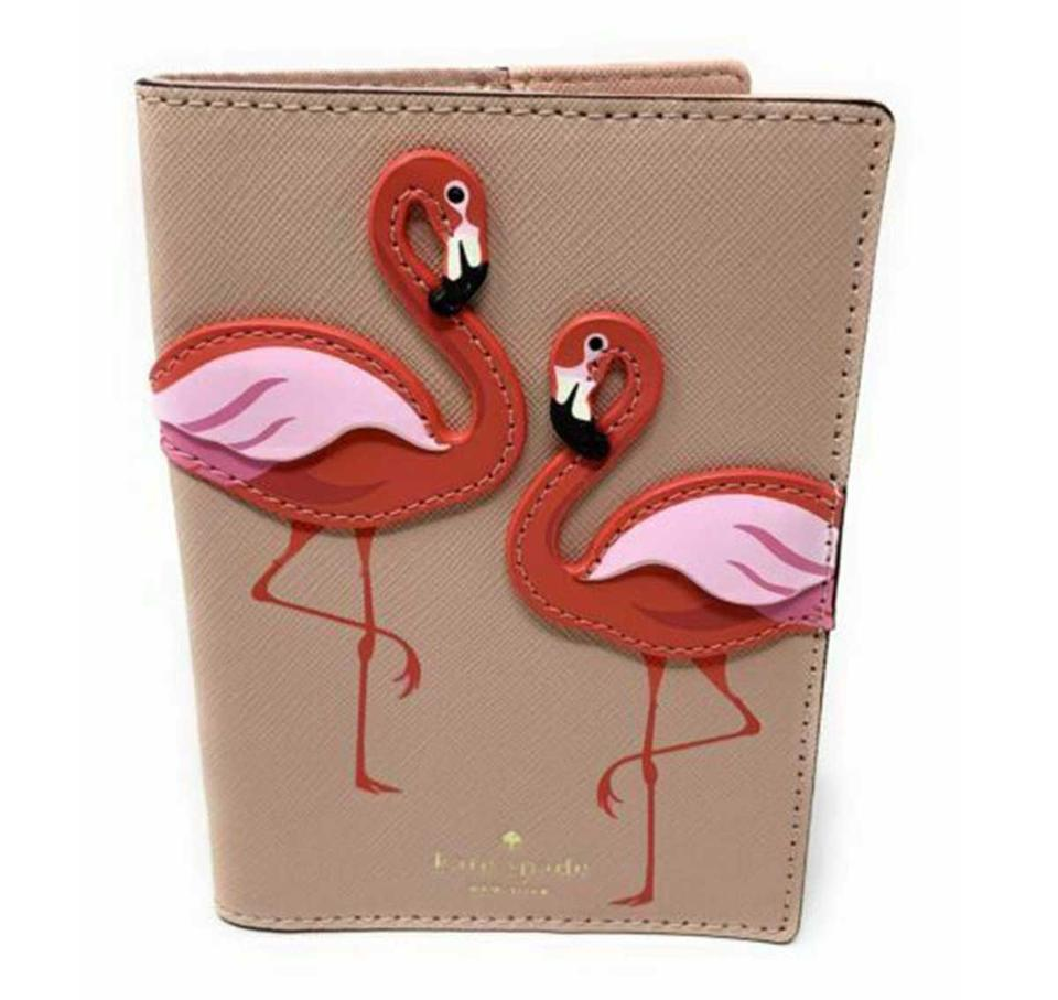 By The Pool Flamingo Kate Spade Kate Spade Multi Color By The Pool Flamingos Passport Holder Wallet 33 Off Retail