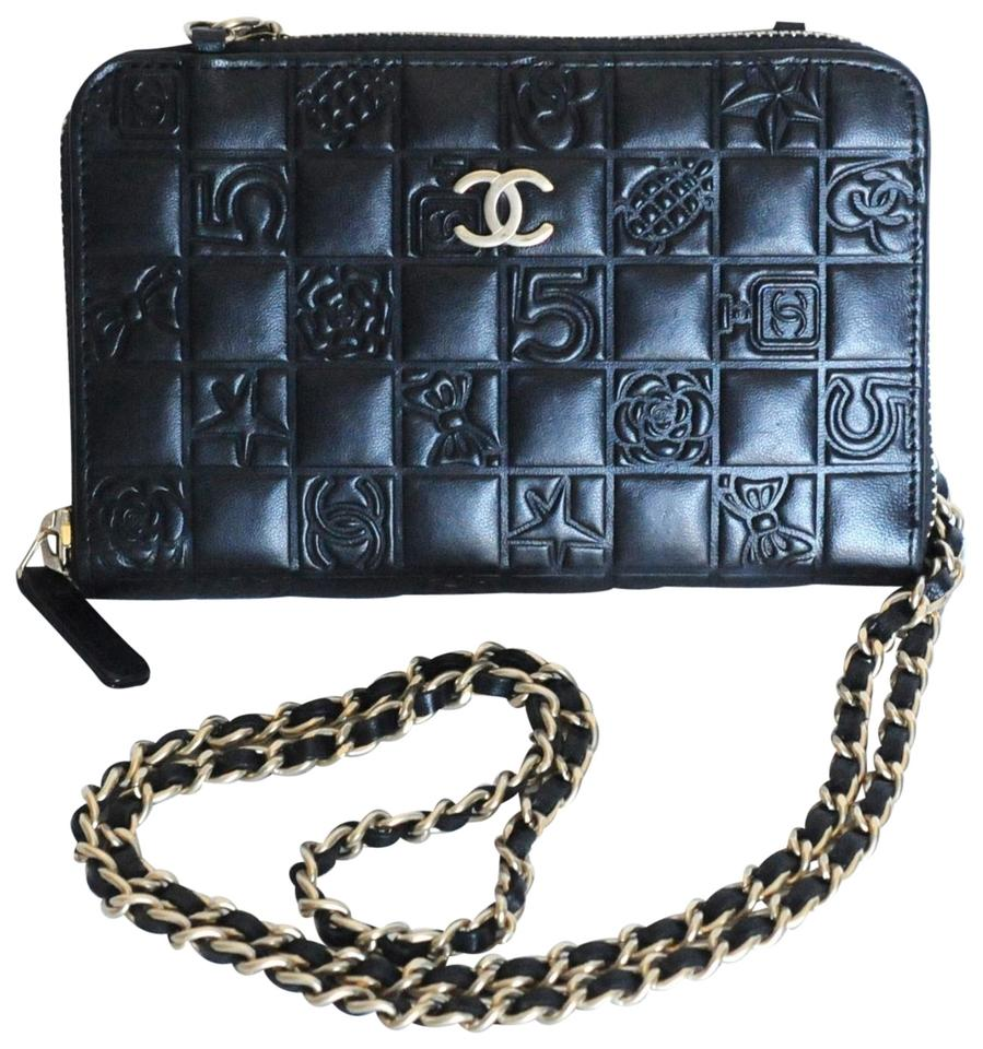 Mini Vs Woc Chanel Wallet On Chain Mini Woc Precious Symbols Black Leather Cross Body Bag