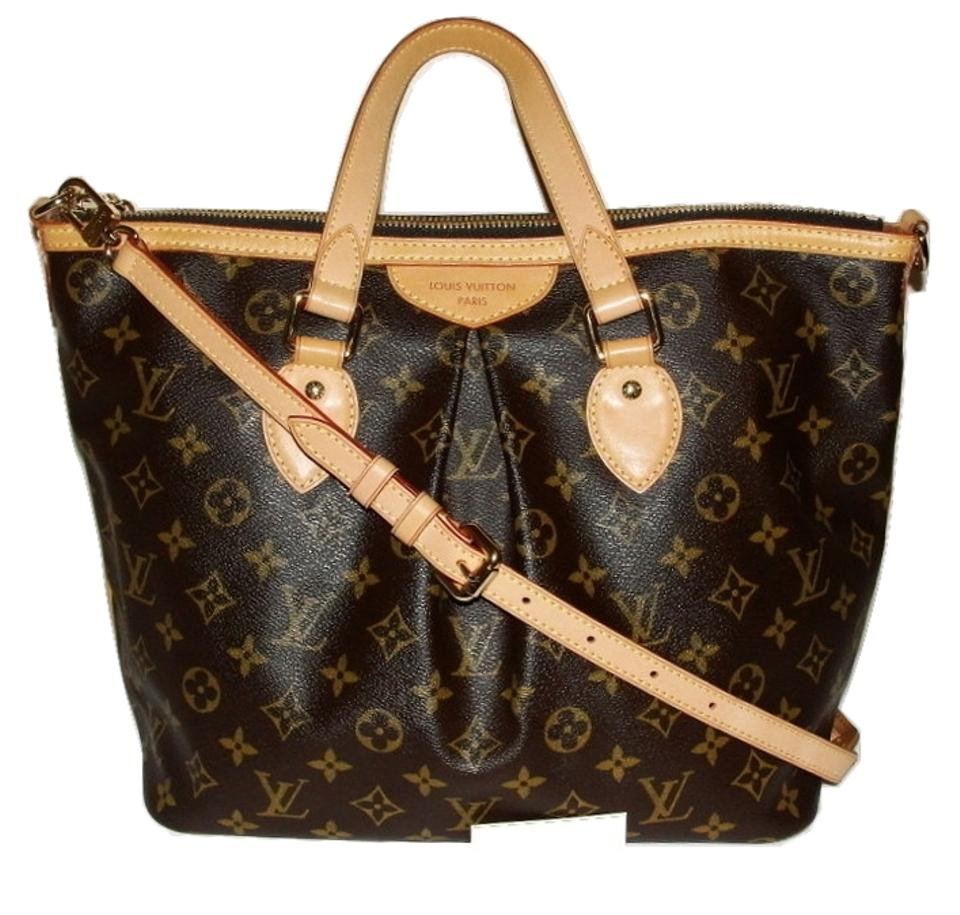 Louis Vuitton Tivoli Vs Palermo Louis Vuitton Palermo Sale With Crossbody Strap Monogram Brown Shoulder Bag