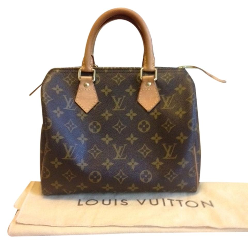 Louis Vuitton Tivoli Vs Palermo Louis Vuitton Speedy 25 With Dustbag And Lock Date Code Sd3172 Monogram Satchel