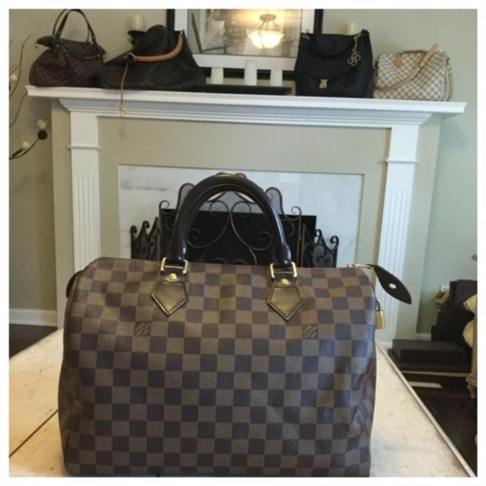 Louis Vuitton Tivoli Vs Palermo Louis Vuitton Speedy 30 In Date Code Sd2161 Made In The Usa Damier Ebene Satchel