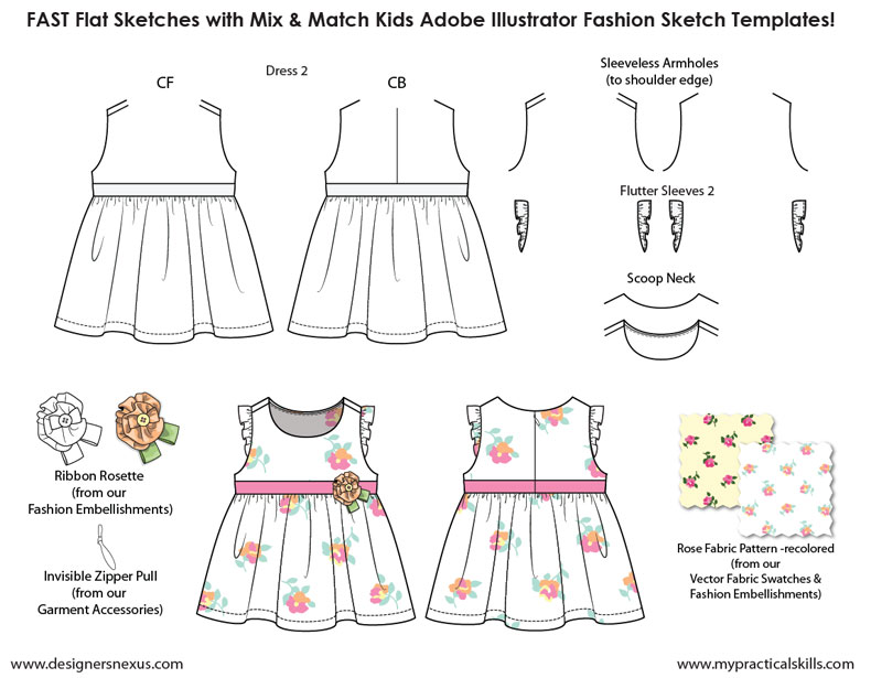 The Gallery For Gt Child Fashion Body Templates