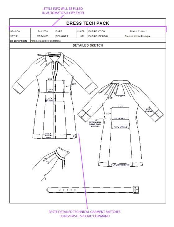 How to Spec a Garment\