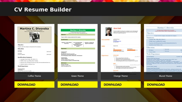 easy online resume builder create or upload your 72 resume maker software - Easy Online Resume Builder