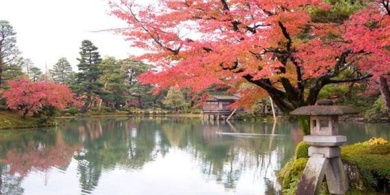 【金澤必去景點】兼六園,日本三大名園,初秋、紅葉