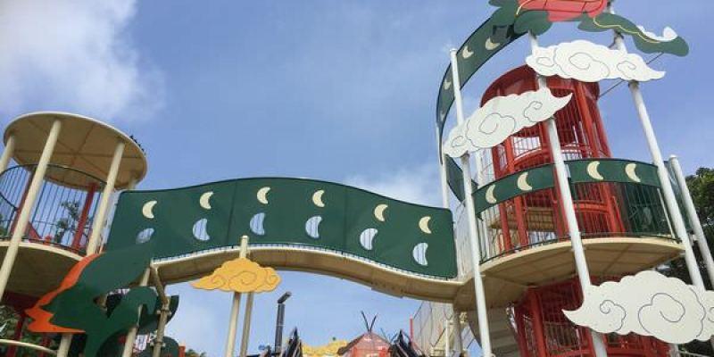 【沖繩,玩南部】奧武山公園,激推的長溜滑梯公園!順便收集琉球八社!