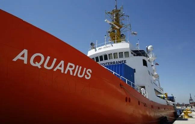 L'Aquarius, symbole des désaccords européens sur l'accueil des migrants.