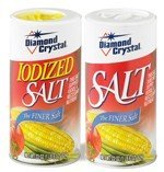 Diamond Crystal Table/Canning Plain and Iodized Salt ...