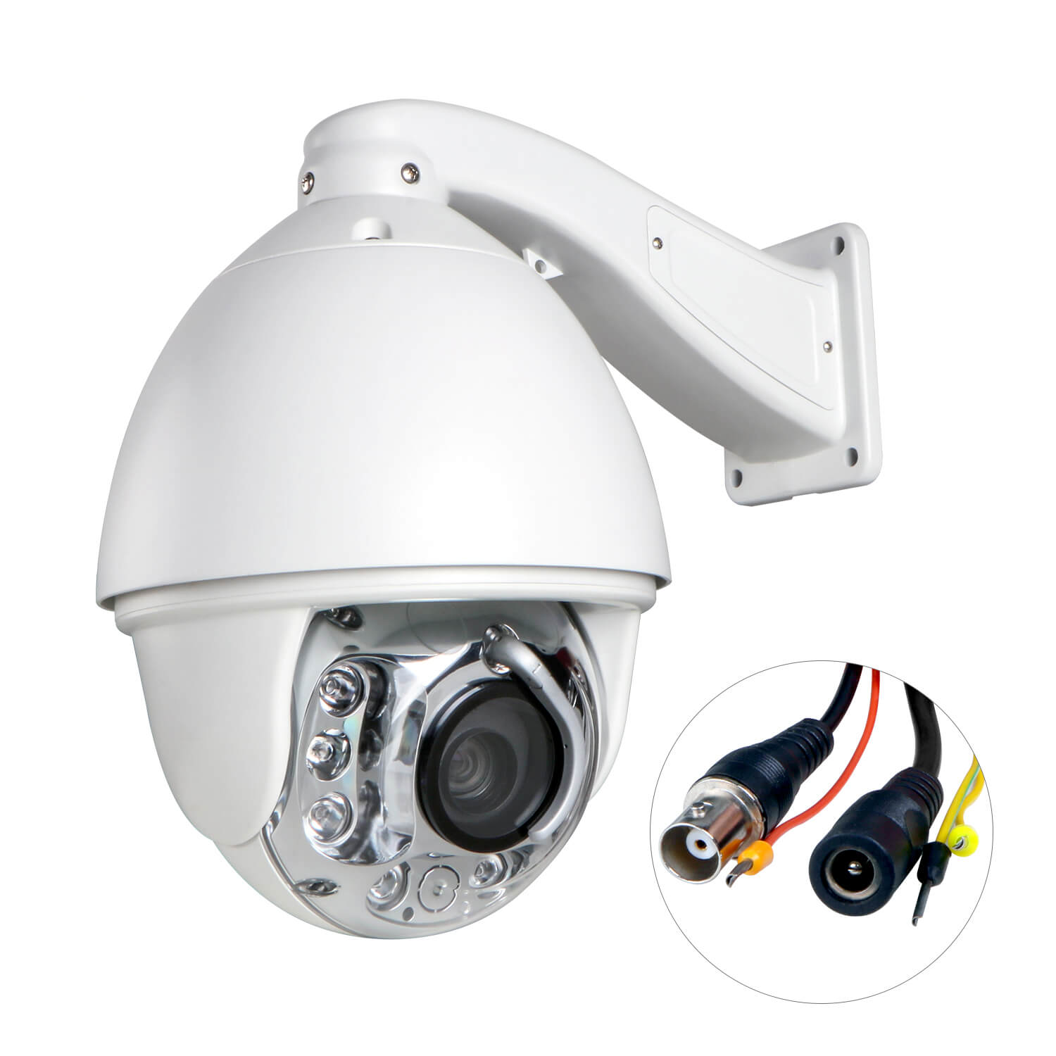 Camera Surveillance Exterieur Ptz 30x Auto Tracking Zoom Cctv High Speed 1200tvl 8ir Dome