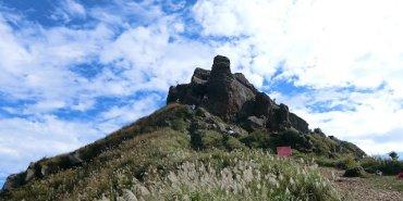 爬山 基隆茶壺山,山海一色的絕美風景