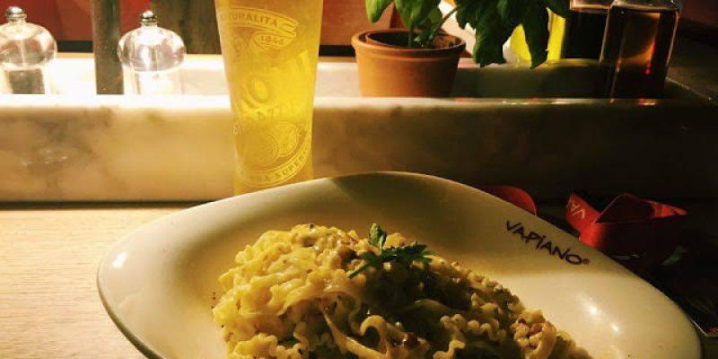 〔台北食記〕信義區VAPIANO義大利餐廳,價位合理、適合小酌的夜景餐廳