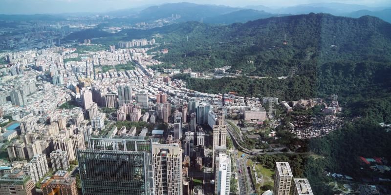 台北旅遊 台北101觀景台,89樓俯瞰全台北市