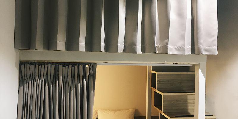 高雄住宿 紙飛機高雄青年旅館,經濟實惠的雙人床上下舖