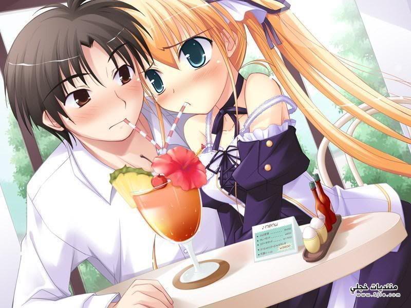 Cute Anime Couple Cuddling Wallpaper Hd صور انمى رومانسية صور انمى كيوت