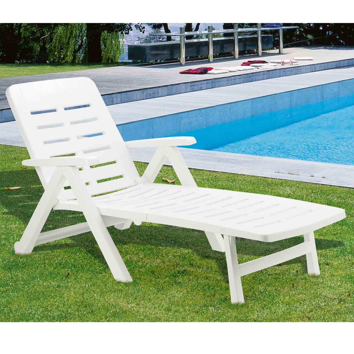 Table Pliante Multi Usage Banc De Jardin Plastique Blanc Beautiful Table De Jardin