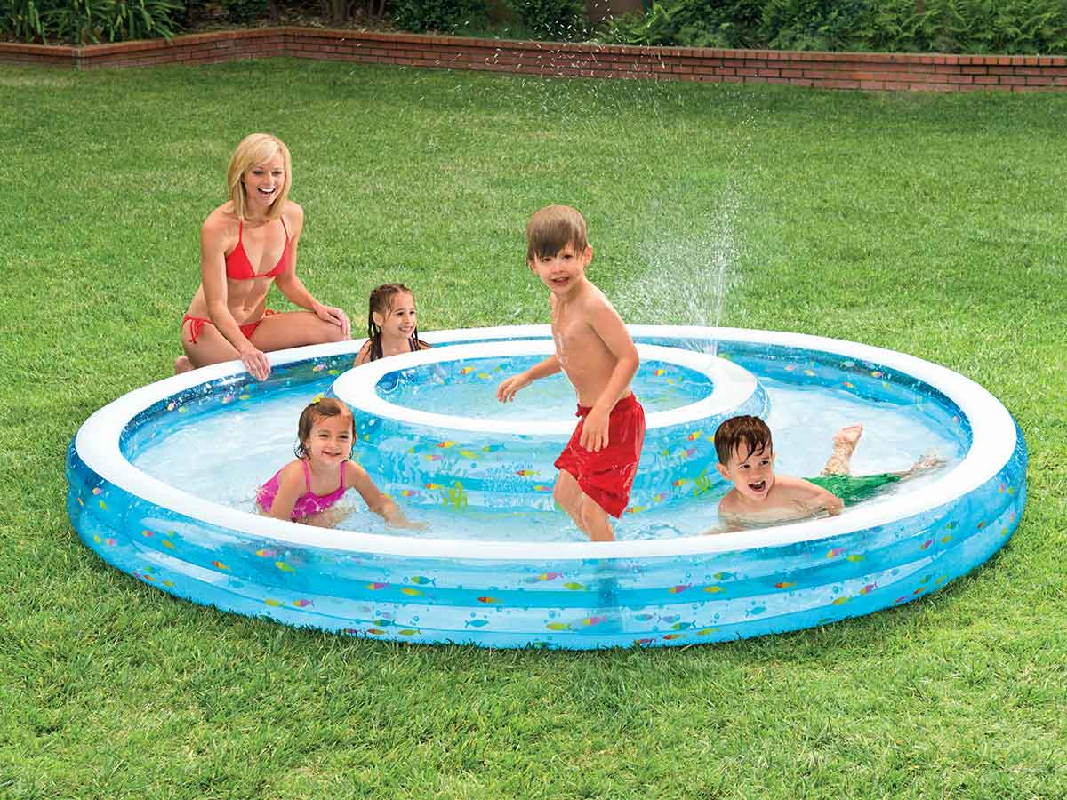 Lit Gonflable électrique Intex Premaire Dream Support 2 Personnes Intex Piscine Tubulaire 366 X 099 M