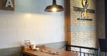 台中南屯 堤諾比薩Tino's Pizza Café 披薩餅皮厲害 甜鹹口味都有