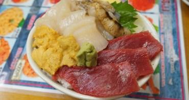 【日本北海道】小樽 三角市場內「滝波食堂」 超值海鮮丼 多種海鮮任你選