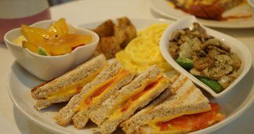 【台中西區】歐姆定律1號店-好吃又能吃飽的早午餐
