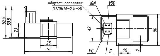 110 atv diagrama de cableado