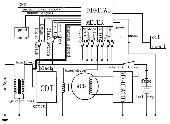 atv cdi ignition wiring neutral reverse