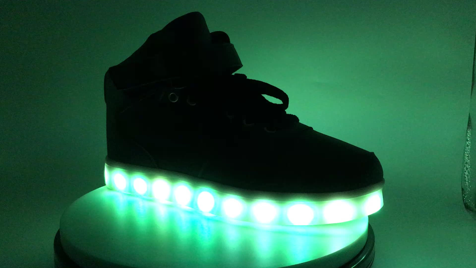 Led Light Sport Shoes For Children Led Light Running Shoes