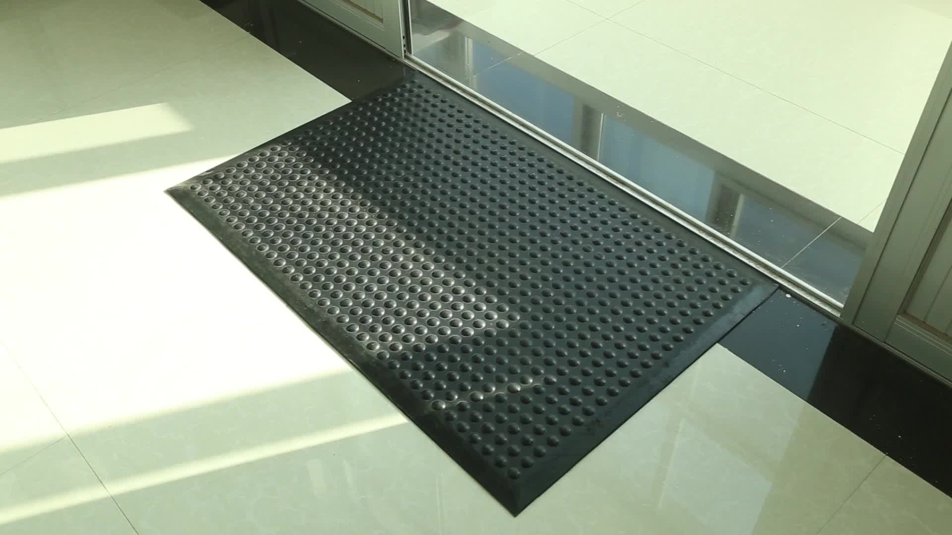 Rubber Anti Fatigue Floor Mat Rubber Mat With Beveled