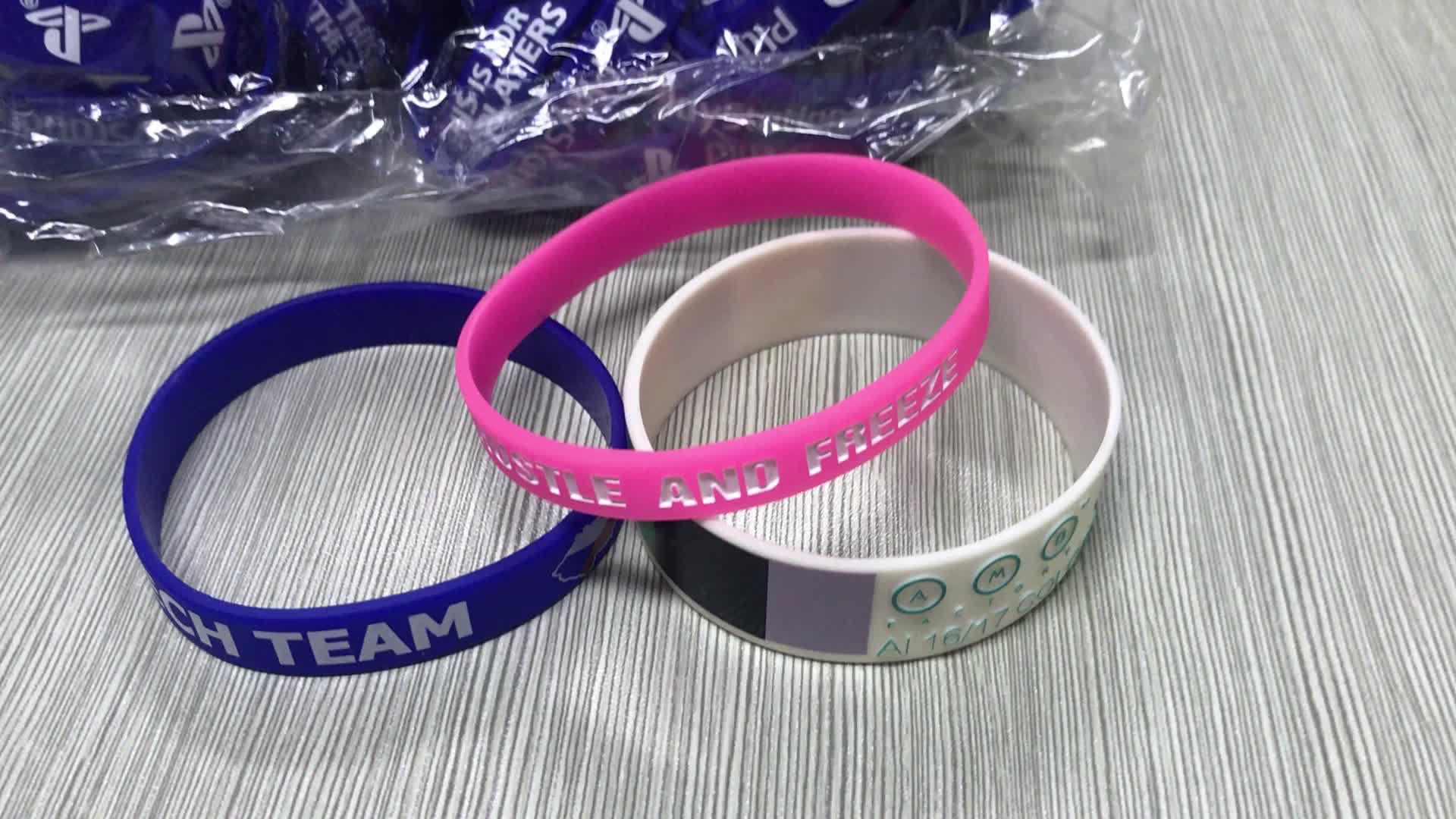 Factory Supply Color Change Bracelet Custom Animal Rubber